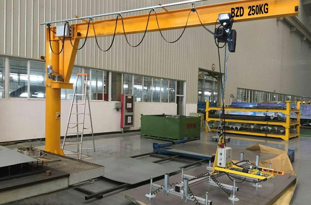 Two Years Warranty Movable Mini Portable Jib Crane
