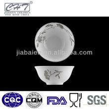 A036 Fine bone china microwavable ceramic mixing bowl