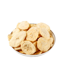 Freeze dried banana chips sliced healthy snack with great quality