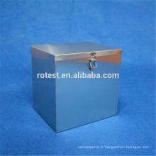 Boîte de stérilisation personnalisée en acier inoxydable
