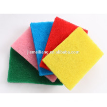 Kitchen hot pad non-scratch scouring pad nylon green scouring pad for sales