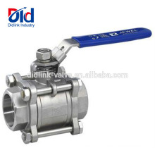 High Pressure Float Water Tank 1 Inch 1000 Wog Psi Cf8m Handle Price Stainless Steel Ball Valve