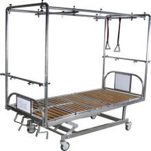 Cama de hospital médica de alta qualidade do quadro ajustável de tração