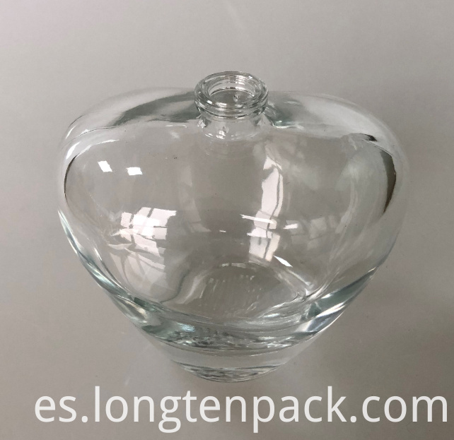 100ml Heart bottle