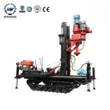 Granite pile hole water well drilling rig Crawler type rc drilling rig prices