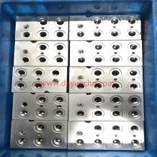 Válvula de flujo de cartucho personalizada y colectores hidráulicos
