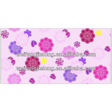 A grade 65gsm printed 100% polyester fabric stock