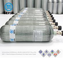 pcp airgun carbon fiber gas cylinders M18*1.5mm thread