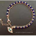 Bracelet d'électrodéposition en or plaqué or Diamond Diamond Evil (XBL13494)