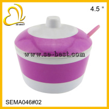 Melamine sugar pot,seasoning pot