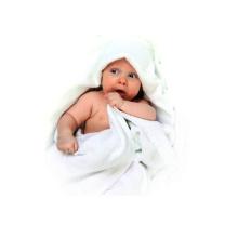 China atacado algodão orgânico / bambu com capuz toalha de bebê, toalha mágica