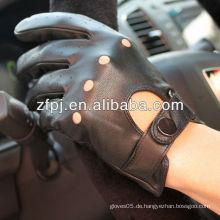 ZF100 kurzes Design Leder Motorrad Handschuhe für Importeure