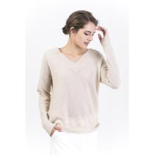 Women′s V Neck Pullovers
