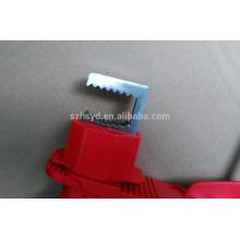 Aprobar CE longitud 1,8 m y cable de diámetro 5 mm ABS bloqueo de válvula de bola barata