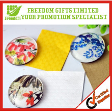 Glass Material Custom Printing Epoxy Fridge Magnet