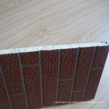 Panel de pared exterior de ladrillo con aislamiento térmico (Villas usadas)
