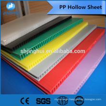 4mm 720gsm blue color PP Hollow sheet