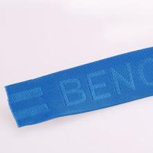 Ruban élastique en Kevlar / Nylon / Coton étroit en couleur bleue en rouleau