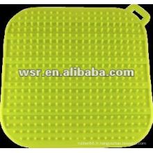 Tapis de séchage en silicone avec différents styles