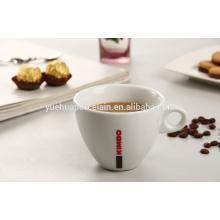 Caneca de xícara de cerâmica fina de porcelana durável para café
