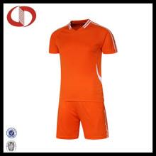 Qualitäts-kundenspezifischer Firmenzeichen-Fußball Jersey mit preiswertem Preis