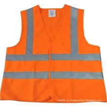 Produtos de Segurança OEM Orange XL do colete de segurança