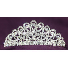 Кристалл новобрачных короны горный хрусталь свадебный тиару