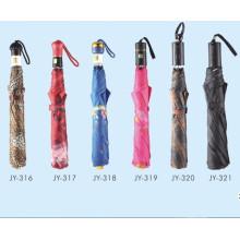 Auto Open Colorful Printing Fold Umbrella (JY-16)