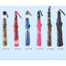 Автоматическая открытая красочная печать Fold Umbrella (JY-16)