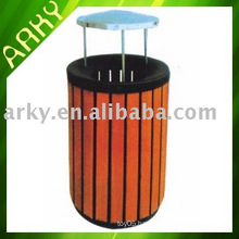 Good quality Wooden Outdoor Wastebin