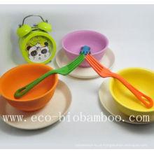 (BC-B2010) Bacia de bambu de bambu elegante da mesa da fibra de Eco