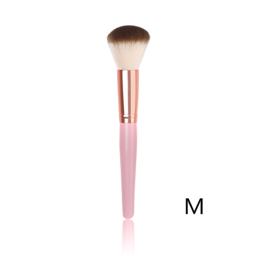2-delige roze make-up beauty blush brush kit