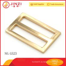 Hebilla del cinturón de la mano del tri-glide del color del oro