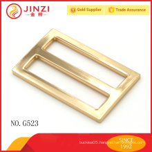 Gold color tri-glide hand belt buckle