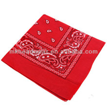 2014 Fashion Cotton Multifunctional Cheap Bandanas with Allover Printing