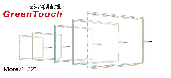 Five Wire Resistive Touch Screen