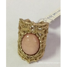 Metal Lace Hollow Ring with SGS Approved