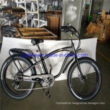 "Bafang Motor 750W 1000W 48V 17A 26"" Fat Tire Beach Cruiser Electric Bike"