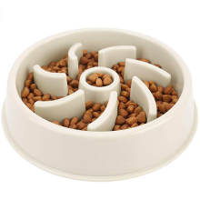 Anti-Gulping Pet Slower Food Dish