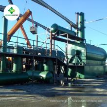 MFG y proveedor de aceite de neumático crudo y aceite de motor a máquina de planta diesel por precio barato