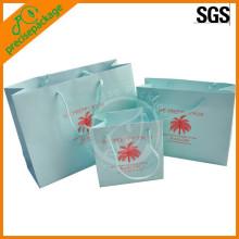paper shopping bag white kraft paper bag for promotion