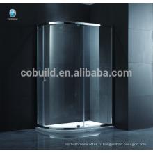 K-544 salles de bains modernes de douche avec la cabine de douche circulaire matérielle de solides solubles