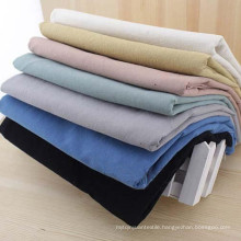 Pure Cotton Washed Fabric Wrinkled Cotton Fabric