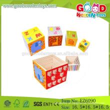 2015 Brinquedos mais novos para crianças Brinquedos educativos de madeira