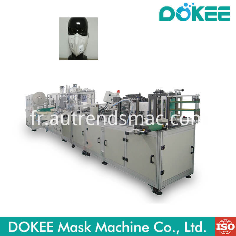 Ffp2 Respirator Dust Mask Machine With Valve