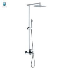 KDS-18 luxe douche à main droite en cuivre massif monté en surface contrôle de la température multifuntional douche mélangeur
