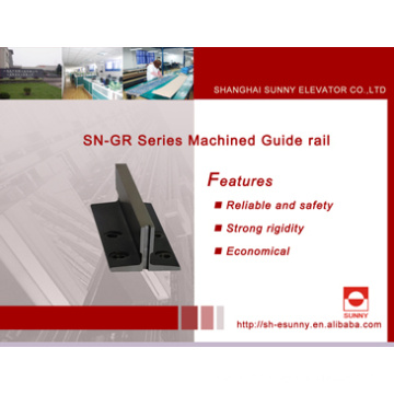 Steel Guide Rail for Elevator (Machined guide rail)