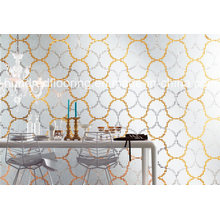 Glass Mosaic Pattern Wall Tile (HMP854)