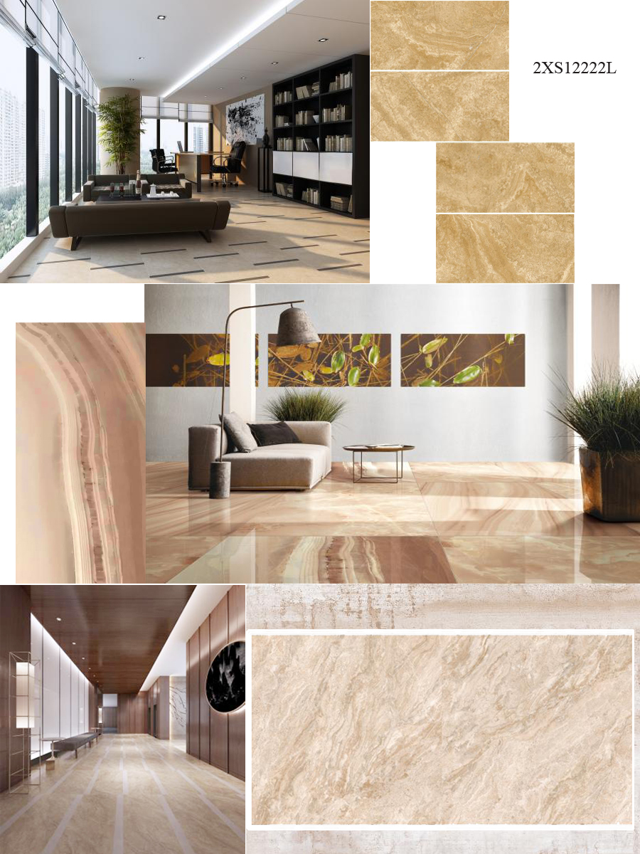 best stone effect porcelain tiles