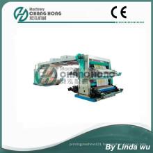 Four Color PP Woven Bag Flexo Printing Machine (CH884-800W)